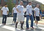 Bearing blisters for women, Men stand tall to raise awareness 130413-F-XD389-233.jpg