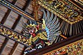 Beautiful wood carving - Tirta Empul temple (17057856481).jpg