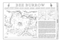 Bee Burrow, Seven Lakes Wash, Crownpoint, McKinley County, NM HABS NM,16-CROPO.V,1- (sheet 1 of 3).png