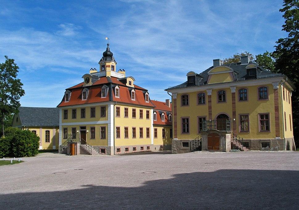 Beethovenhaus %26 Bachhaus des Schloss Belvedere (Weimar)