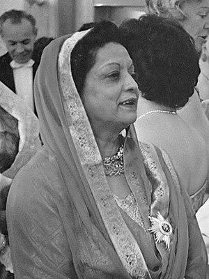 Ra'ana Liaquat Ali Khan - Image: Begum Ra'ana Liaquat Ali Khan (1961)