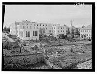 Beirut, Junior Girls' College, residence bldg fr(om) north & N.E. LOC matpc.12785.jpg