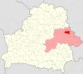 Belarus, Mahilioŭskaja voblasć, Drybinski rajon.png