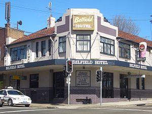 Belfield, New South Wales - Belfield Hotel