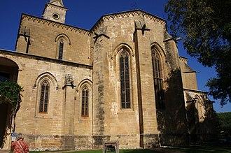 Province of Lleida - Monastery of Santa Maria de Bellpuig de les Avellanes.