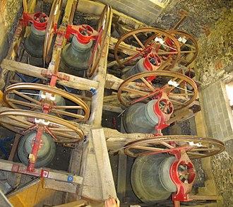 Blewbury - Bells in St Michael's west tower