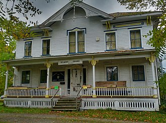 National Register of Historic Places listings in Allegany County, New York - Image: Belmont Grange No 1243 2012 09 29 21 49 07