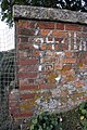Benchmark at 64.11m above datum on railway bridge - geograph.org.uk - 2668400.jpg
