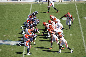 2011 Cincinnati Bengals season - The Bengals against the Broncos