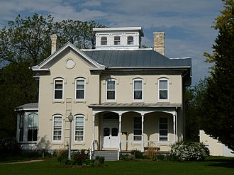 National Register of Historic Places listings in Juneau County, Wisconsin - Image: Benjamin Boorman House
