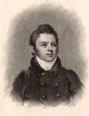 Benjamin Dean Wyatt - Benjamin Dean Wyatt, stipple engraving by T. Blood, after Samuel Drummond. Dated 1812, in the collection of the National Portrait Gallery London