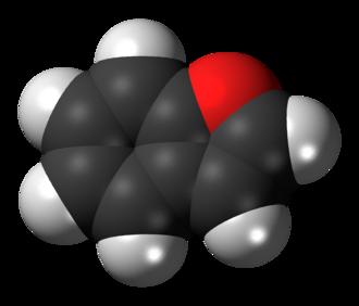Benzofuran - Image: Benzofuran 3D spacefill