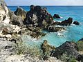 Bermuda (UK) image number 294 Cliffs and rock formations south side of Bermuda.jpg