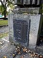 Bernartice Namenstafel tschechische Legion am Kriegerdenkmal.jpg