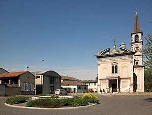 Bertonico - The central square