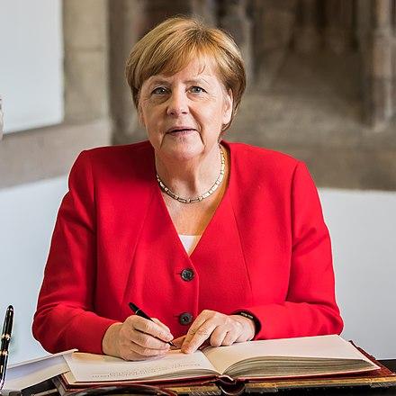 Besuch Bundeskanzlerin Angela Merkel im Rathaus K%C3%B6ln-09916.