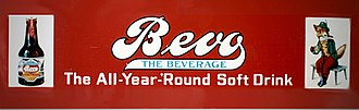 Bevo - Bevo sign