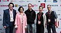 Bianca Jagger, Andreas Gebhard, Markus Beckedahl, Tanja Haeusler, Johnny Haeusler - re publica 2014 (13938314207).jpg