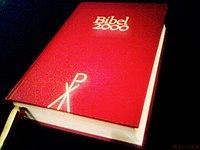 Verbums udgave af Bibel 2000.