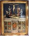 Biccherna 55, giovanni di lorenzo, crocifisso, s. caterina stigmatizzata, la madonna e santi, 1545.jpg