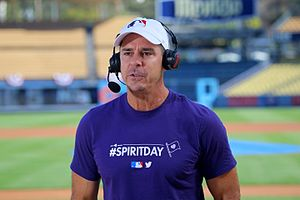 Billy Bean - Image: Billy Bean Spirit Day 2016 10 20 at Dodger Stadium 3