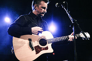 English: Billy Bragg performing at South by So...