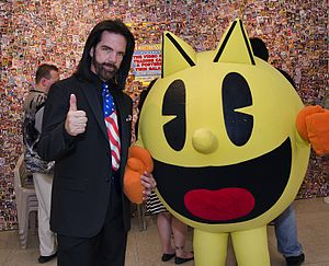 Pac-Man - Billy Mitchell and Pac-Man, Fairfield Iowa 2014