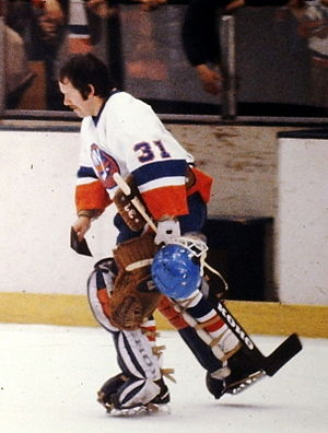 Billy Smith (ice hockey) - Billy Smith with the New York Islanders