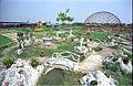 Birdcage Under Construction - Science Park - Science City - Calcutta 1996-10-11 870.JPG