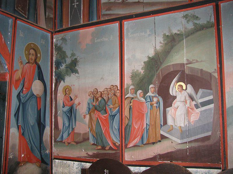 Fișier:Biserica de lemn Adormirea Maicii Domnului din satul Gavanu comuna Manzalesti judetul Buzau Romania 16.jpg