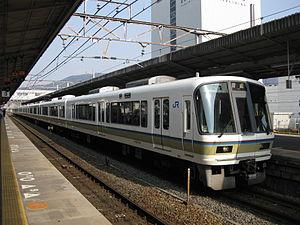 Hokuriku Main Line - Biwako Line 221 series EMU