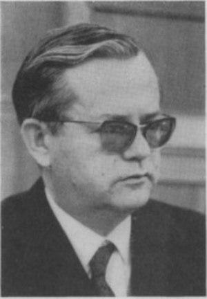 Blaže Koneski - Blaže Koneski in 1968