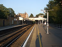 Blackheath station look east.JPG