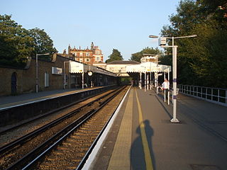 Blackheath railway station railway station in Blackheath, London