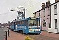 Blackpool tram 642 in Pharos Street - geograph.org.uk - 1155503.jpg
