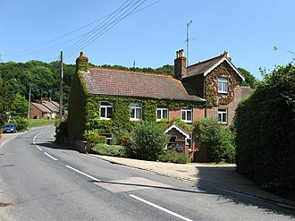 Crowhurst, East Sussex - Image: Blacksmiths Cottage geograph.org.uk 1357274
