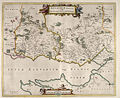 Blaeu - Atlas of Scotland 1654 - ANNANDIÆ - Lower Annandale.jpg