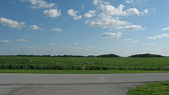 Blanchard Township, Putnam County, Ohio - Fields in central Blanchard Township