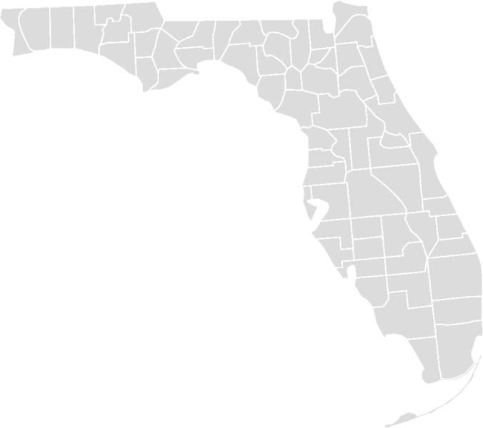 Florida Map Blank.File Blankmap Florida Counties Png Wikimedia Commons