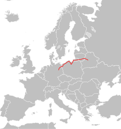 Blank map of Europe cropped - E28.svg