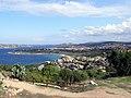 """Blick vom """"Fortezza Monte Altura"""" in Richtung Palau - panoramio.jpg"""