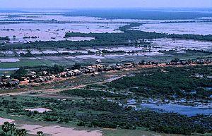Phnom Krom - Image: Blick vom Phnom Krom 03