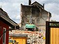 Blick von Ahornstr auf Abriss Brauhaus Genthin.JPG