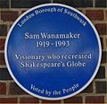 Blue plaque Sam Wanamaker.jpg