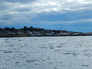 Bluff from Stewart Island ferry.jpg