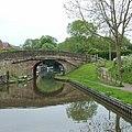 Boat Inn Bridge at Gnosall Heath, Staffordshire - geograph.org.uk - 1388446.jpg