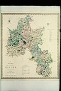 Bodleian Libraries, A new map of the County of Oxford by Charles Smith, 1801.jpg