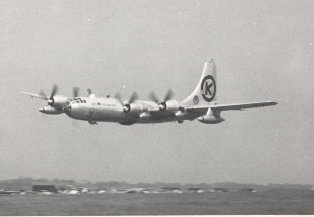 Boeing B-50D Leeds Yeadon 1953