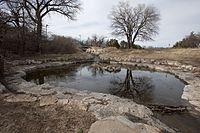Boiling Springs State Park Woodward Oklahoma pond.jpg