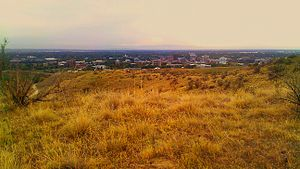 Boise metropolitan area - Boise, from its foothills